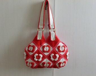 Instant Download Crochet PDF pattern - Stylish Handbag BARBOLETTA