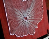 Ohio Love // Nail and String Tribute to The Buckeye State