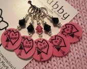 To My Valentine NON SNAG Stitch Markers