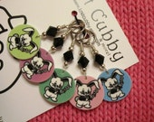 Pastel Easter Bunnies NON SNAG Stitch Markers