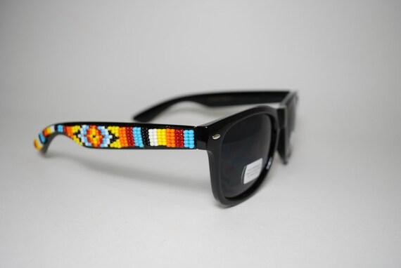 Native Sun beaded sunglasses