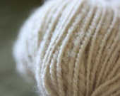 Cream Homespun Yarn-100% Wool