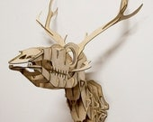 Goldfuss - Plywood Stag Head