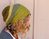 Green Rings Slouch Hat