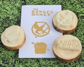 The Hunger Games Handmade Stamp Set