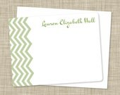 Flat Chevron Notecards (12 count)