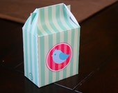 Printable Mini Gable Box/Gift Bag-Tweet Bird