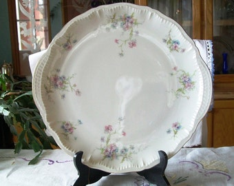 "CLEARANCE Theodore Haviland New York 14 Inch Platter, Chop Plate, ""Annette"""