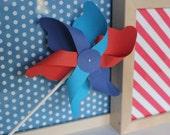 Custom 6 Petal Pinwheel, Set of 6