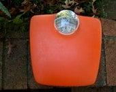 Atomic Orange Bathroom Scale