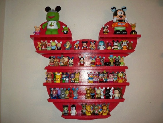 """Custom Listing for Amy Lyday-Red Mickey Vinylmation display approx. 48"""" X 48"""" (estimated 120 vinylmation capacity)"""
