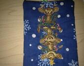 custom embroidered, money Keeper cash Ornament Money MONKEY Christmas, Gift Card Holder