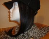 1B/530  Clip on Hair Extension 6x18