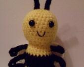 Buzz Buzz the Handmade Amigurumi Crochet Bumblebee