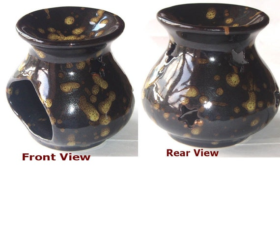 Ceremic Candle holder Tart Burner / oil Warmer / Luminary-Home Decor for the autumn & Winter fall color trends