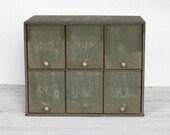 Vintage Apothecary Prescription Storage Boxes - Set of 6