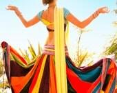 Indian Panel Skirt - Rainbow Renaissance