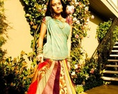 Indian Ethnic Skirt - OOAK Patchwork