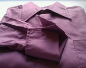 Light Purple Button-up Shirt with French Cuffs by Van Heusen