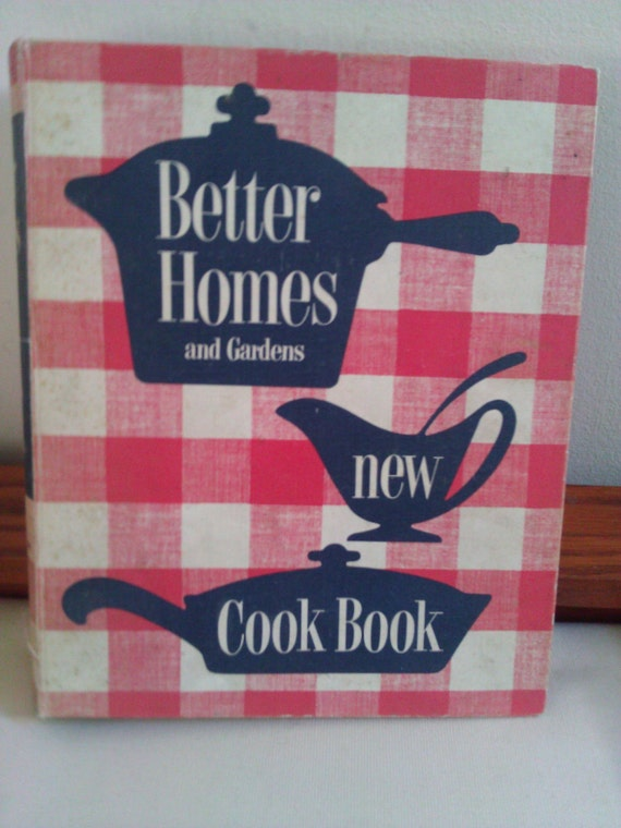 Vintage better homes and gardens new cookbook 1950 39 s ed - Vintage better homes and gardens cookbook ...