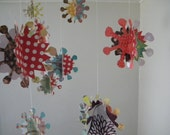 Abstract Paper Flower Mobile