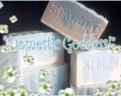 DOMESTIC GODDESS - The Pure Luxury Bar - Natural Bath & Body Products by Simple MInded Bath Co.