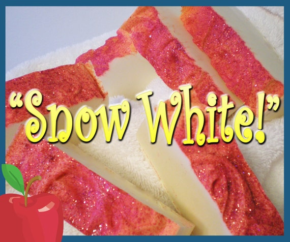 Snow White  - EXHILARATING LUXURY SOAP Natural and Organic Products by Simple Minded Bath Co.