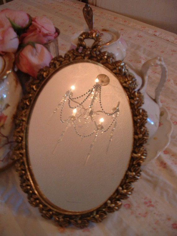 Beautiful vintage french mirror