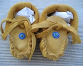 Baby Indian Moccasins -  Indian baby shoes