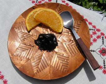 Mid Century Teak Serving Spoon from Japan