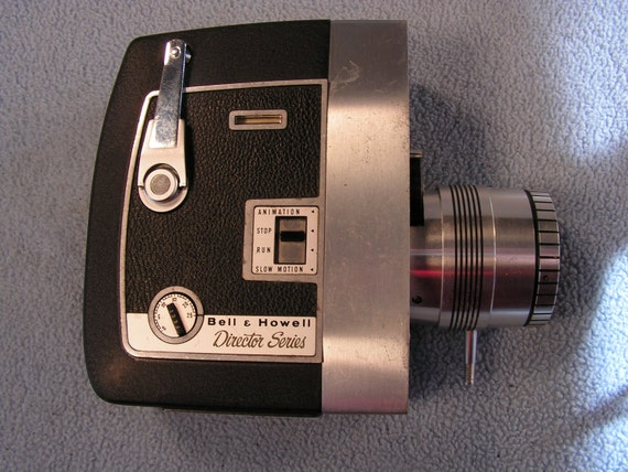 60s Bell & Howell Directors Series Magazine 8mm Film Movie Camera