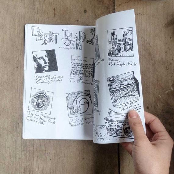 Art Drawing Zine - Ladies & Gentlemen Quarterly - Art Music Stories and Humor