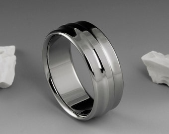 Titanium Ring, Mens Titanium Rings, Womens Titanium Ring, Titanium Wedding Ring, Titanium Band, Titanium Jewelry, Titanium Engagement Ring