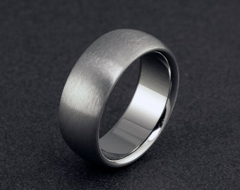 Titanium Wedding Ring, Mens Ring, Womens Ring, Titanium Band, Plain Titanium Ring, Domed Ring, Mens Wedding Band, Engagement Ring, Promise