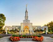 16x20 Print - California Sacramento Temple