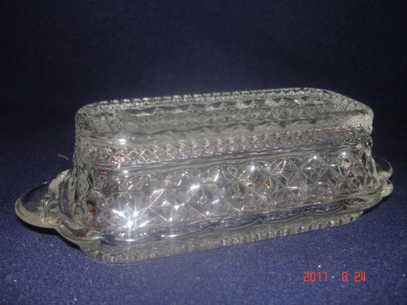 Wexford Butter dish by anchor hocking