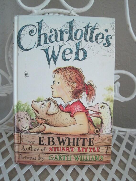 Charlotte's Web hardback book copyright 1952