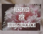 Reserved Listing - Soft Pink Peony Cards