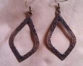 Copper Colored Dangle Earring