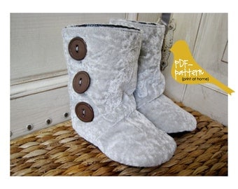 High-Top Boots PDF (INSTANT DOWNLOAD Sewing Pattern)