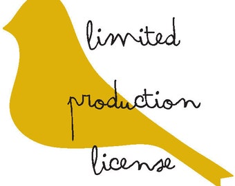LIMITED PRODUCTION LICENSE