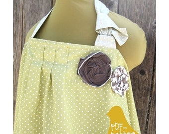 Nursing Cover PDF (INSTANT DOWNLOAD Sewing Pattern)