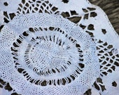 French Doily Antique Hand-Made