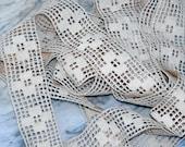 French Lace Antique Ecru