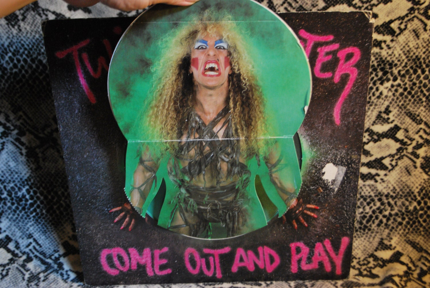 Twisted Sister Come Out And Play Pop Up Cover Vinyl Lp