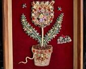 Framed Jewelry Tulip