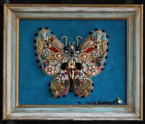 Framed Jewelry butterfly (3)