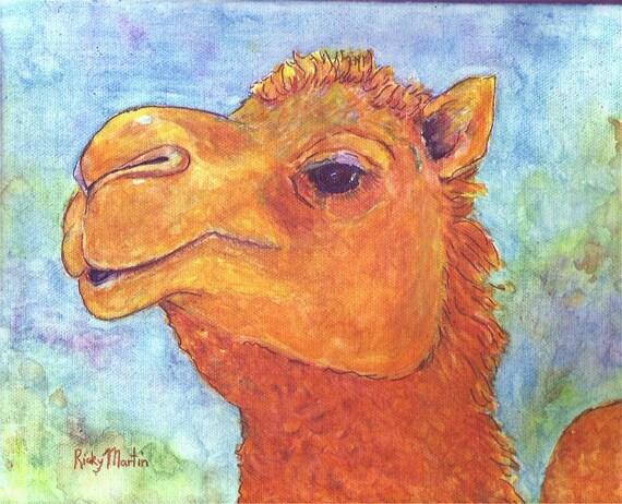 Camel Wild Life Desert Children Boys Girls Toddler