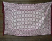 Hand Woven Cotton Blanket / Wall Hanging