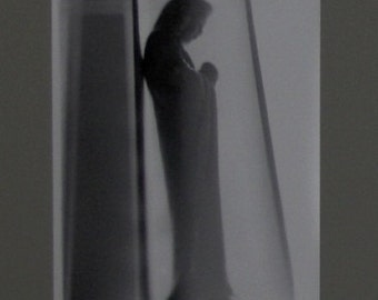 "Original photograph. Film. Black and white. Manually developed. ""Icon No. 5""."